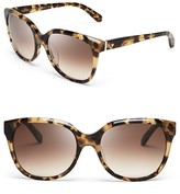 Kate Spade Bayleigh Oversized Sunglasses, 55mm
