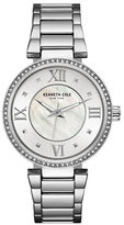 Kenneth Cole Classic Mother-Of-Pearl Dial Analog Watch