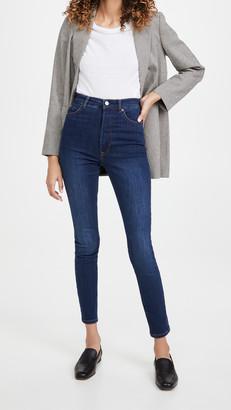 Reformation Harper Ultra High Rise Skinny Jeans