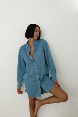 Thakoon Denim Shirt Dress