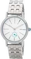 Steve Madden Women's Alloy Analog Bracelet Watch