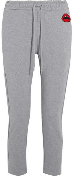 Markus Lupfer Daria Cotton-jersey Track Pants