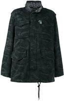 Marc Jacobs camouflage print oversized jacket - women - Cotton - S