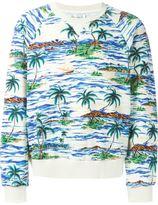 Faith Connexion palm print sweater - men - Cotton - S
