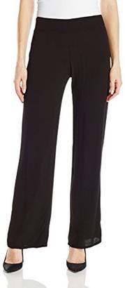 Monrow Women's Flowy Crepe Pant