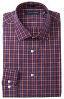 Tommy Hilfiger Plaid Howard Slim Fit Dress Shirt