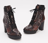 Vince Camuto Leather Lace-Up Hiker Boots - Ermania