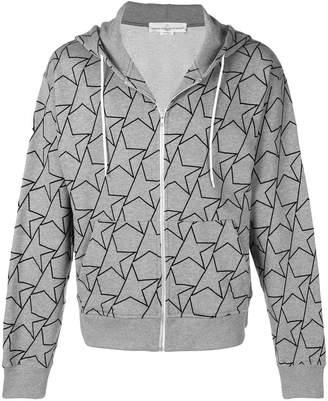 Golden Goose star print zipped hoodie