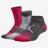 Nike Jordan Mesh Waterfall Kids' Socks (3 Pair)