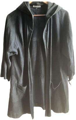 BA&SH Grey Suede Coats