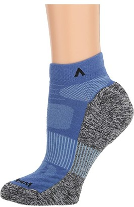 Wigwam Attain Lightweight Low (True Blue) Crew Cut Socks Shoes