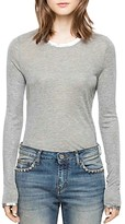Zadig & Voltaire Willy Long Sleeve Foil T-Shirt