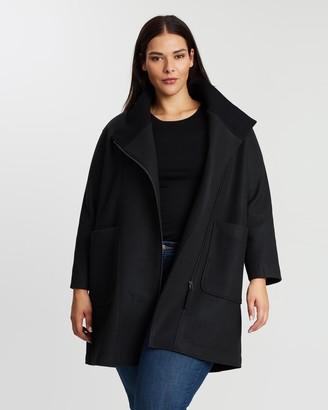 Atmos & Here Wool Blend Coat
