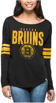 '47 Women's Boston Bruins Courtside Long Sleeve T-Shirt