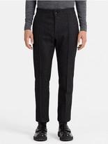 Calvin Klein Slim Fit Boiled Wool Pants