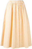 MAISON KITSUNÉ Estelle skirt - women - Cotton - S