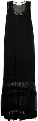 Twin-Set layered tank dress