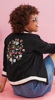 Esprit EDC - Embroidered bomber jacket