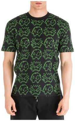McQ All Over Monster Print T-Shirt
