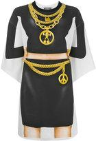 Moschino silhouette print T-shirt dress - women - Cotton/other fibers - 46