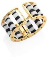 Lele Sadoughi Striped Column Slider Bracelet