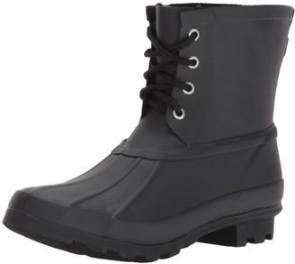 Western Chief Women's Ankle Rain Bootie Boot Duck Black 10 M US