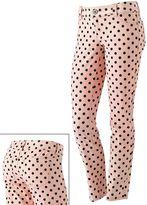 Candie's polka-dot skinny jeans - juniors