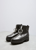 Alyx Black Upper Tank Boot With D-ring