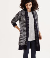 LOFT Lou & Grey Floatstitch Cardigan
