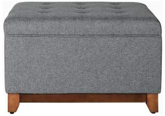 HomePop Storage Bench Charcoal