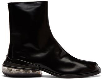 Maison Margiela Black Airbag Tabi Boots