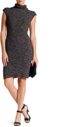 Max Studio Cap Sleeve Sweater Dress
