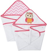 Neat Solutions Terry Hooded Towel Set - Owl