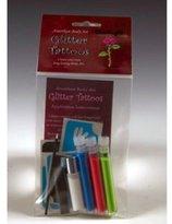 Amerikan Body Art Mini Glitter Tattoo Kits - UV/Blacklight (3 Colors)