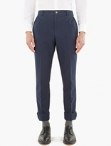 Thom Browne Navy Cotton Chinos
