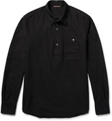 Barena - Half-placket Honeycomb Cotton Shirt