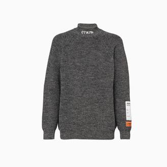 Heron Preston Chunky Sweater Hmhf001f20kni001