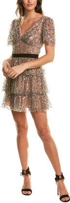 Self-Portrait Sequin Mini Dress
