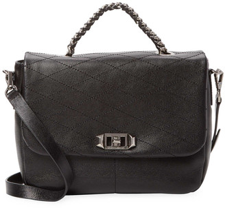 Rebecca Minkoff Quilted Leather Messenger Bag