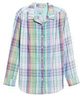 Tommy Bahama Muffy Madras Button-Up Top