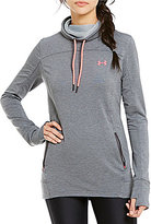 Under Armour Funnel Neck Long Sleeve Featherweight Fleece Pullover