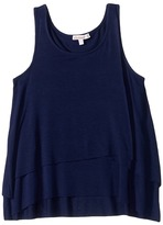 Ella Moss Stella Tiered Tank Top Girl's Sleeveless