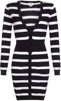 Yumi Ribbed Stripe Cardigan