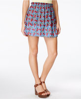 Alice Through The Looking Glass Juniors' Printed A-Line Skirt