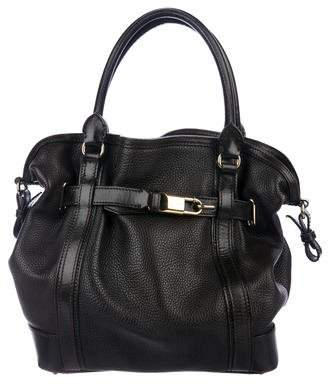 Burberry Grained Leather Tote