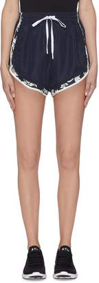 The Upside 'Peony Violet' shorts
