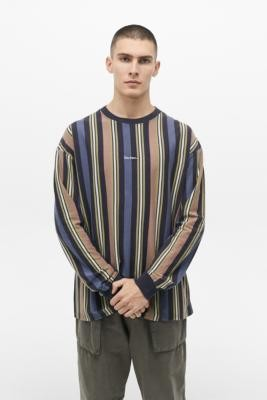 Urban Outfitters Iets Frans... iets frans. Vertical Stripe Long Sleeve T-Shirt - assorted S at