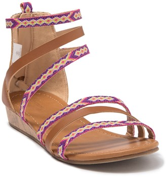 Joe Fresh Multi Strap Wedge Sandal (Toddler, Little Kid & Big Kid)