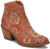 Sofft Embroidered Suede Booties - Westmont II