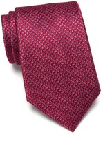 Thumbnail for your product : Nordstrom Barch Micro Pattern Extra Long Silk Tie